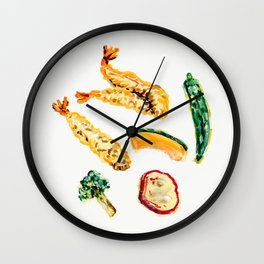 Tempura (January 7) Wall Clock