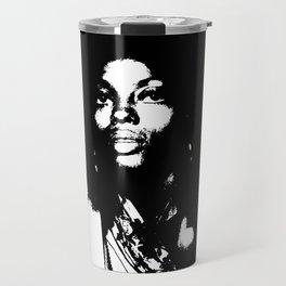 Diana Ross B&W  Travel Mug