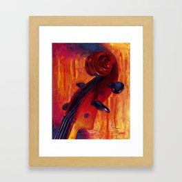 Fit as a Violin #5 Framed Art Print