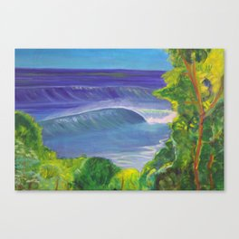 deep_water art Canvas Print