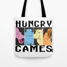 Hungry Hippo Games Tote Bag