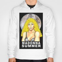 madonna Hoodies featuring Madonna Summer by lavenderpop