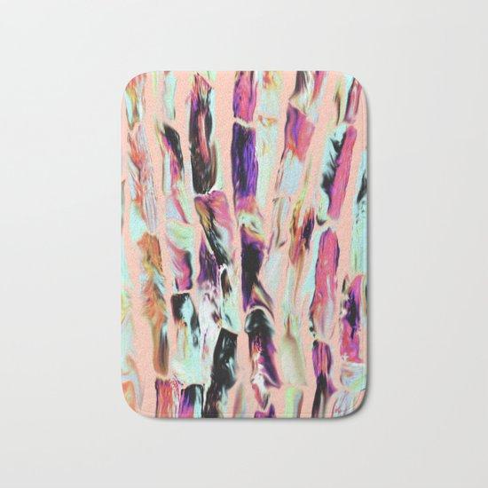 Marbling Sugarcane Peach Bath Mat