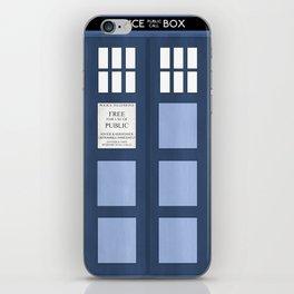 Doctor Who, Tardis iPhone Skin