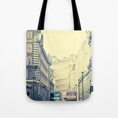When New Meets Old  Tote Bag