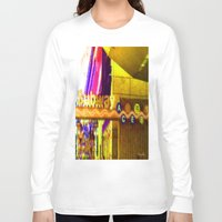 subway Long Sleeve T-shirts featuring Subway NYC by Bettie Blue Design