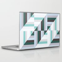 60s Laptop & iPad Skins featuring Maze | 60s by Wood + Ink