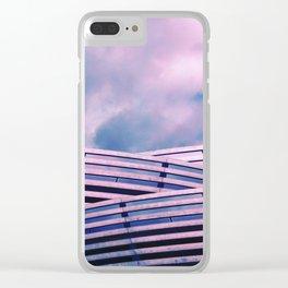 Concrete Cascade Clear iPhone Case