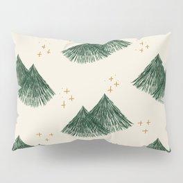 Whimsical Fir Tree Pillow Sham