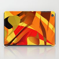 spice iPad Cases featuring pumpkin spice by David Mark Lane