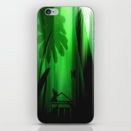 Deep in the rain forest. iPhone Skin