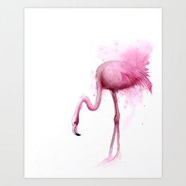 Flamingo (2 of 4) Art Print