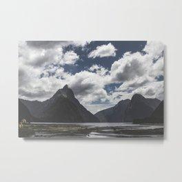 Mitre Peak Metal Print