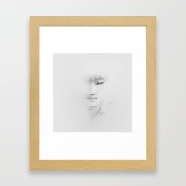 In my dreams you are a part of me. P3 Framed Art Print