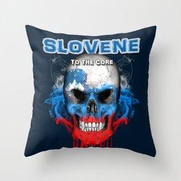 To The Core Collection: Slovenia Throw Pillow