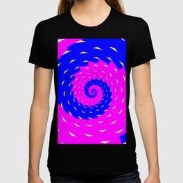 rotation spiral T-shirt