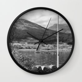 Flying the Flag Wall Clock