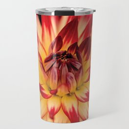 Beautiful Flower Macro Travel Mug