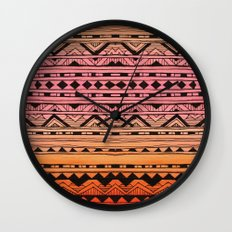 Surf Tribe Wall Clock
