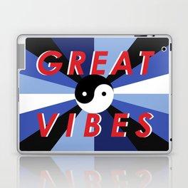 Great Vibes Laptop & iPad Skin
