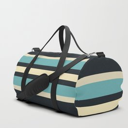 Fusahide - Classic 70s Retro Stripes Duffle Bag