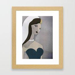 JEZEBEL no31 Framed Art Print