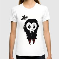 vampire diaries T-shirts featuring Vampire by Chrystal Elizabeth
