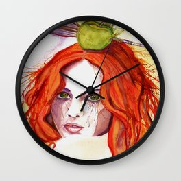 Right on Target Wall Clock