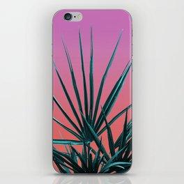 Pink Palm Life - Miami Vaporwave iPhone Skin