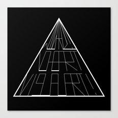 Wizard No Heart Logo Canvas Print