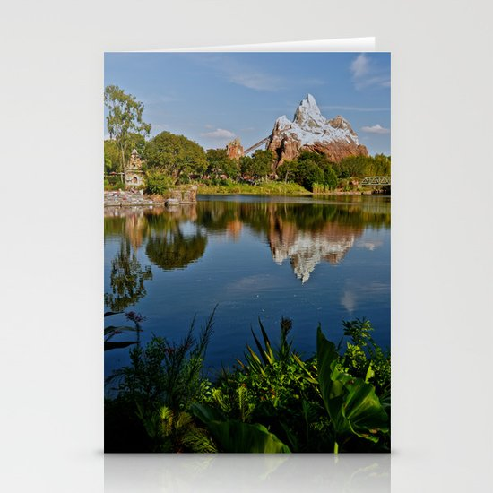 Flame Tree View Stationery Cards