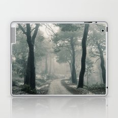 Through the foggy forest Laptop & iPad Skin