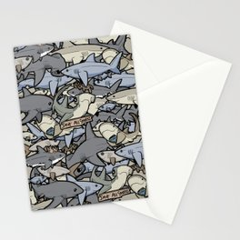 Save ALL Sharks! Stationery Cards