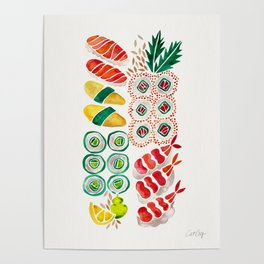 Sushi Collection Poster