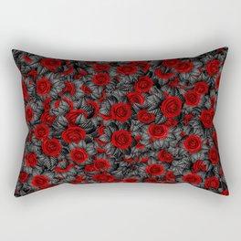 Rosa Sombra Rectangular Pillow