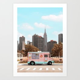 New York Ice Cream Kunstdrucke