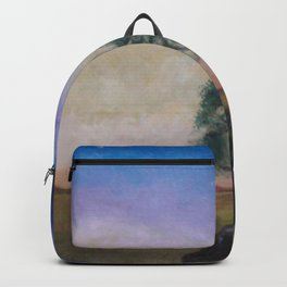 Sunset at the Edge of the World Backpack
