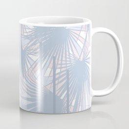 Tropical Art Deco Pattern - Pastel blue and pink Coffee Mug