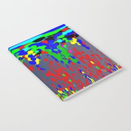 Raining funs and roses ... Notebook