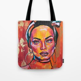 Latin queen Tote Bag