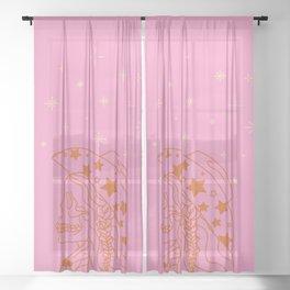 Love or Die Tryin' - Rhinestone Cowgirl Sheer Curtain