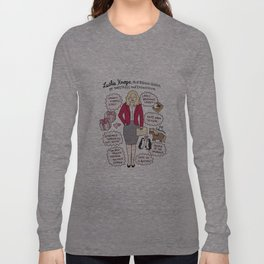 Queen Leslie Knope Long Sleeve T-shirt
