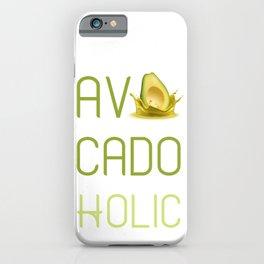 Avocado Holic iPhone Case