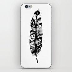 Feather time  iPhone & iPod Skin