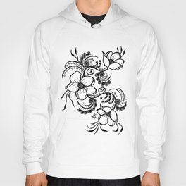 Flowers on the vine Hoody