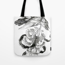 Soul of a Raven Tote Bag