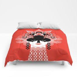 The Queen of clubs Comforters