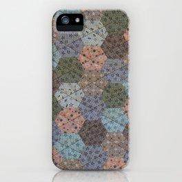 Hexagons Galore iPhone Case