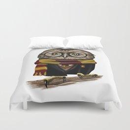 Owly Wizard Duvet Cover