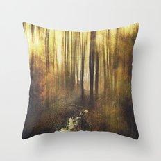 Vintage Woods Throw Pillow